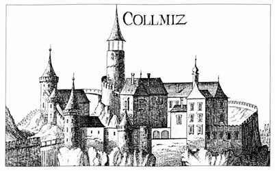 Collmitz Vischer Stich 1672